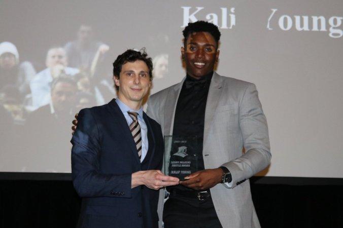 Lenny Wilkens Hustle Award - Kalif Young
