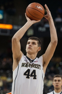 NCAA Basketball: Miami at Wake Forest